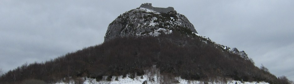 Mont Segur in snow